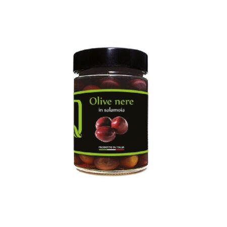 olive nere in salamoia