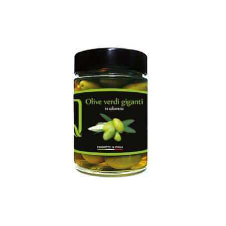 olive verdi giganti in salamoia