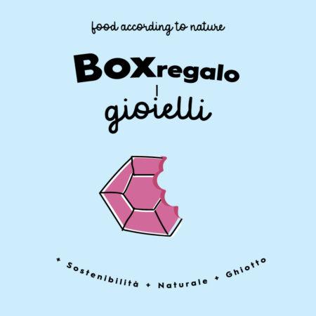 box regalo gastronomico i gioielli